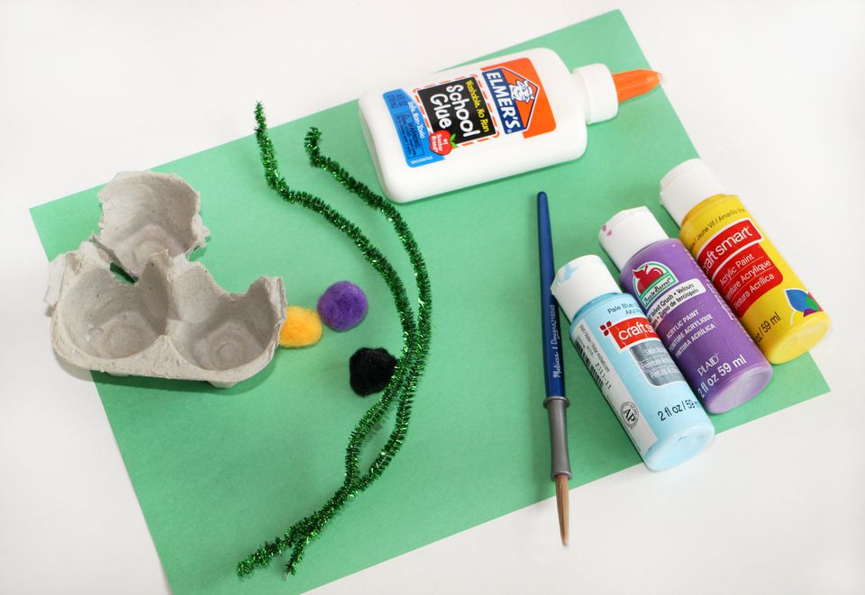 DIY Craft for Kids - Egg Carton DIY Crafts