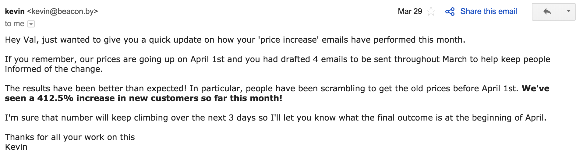 How do you turn a cold new subscriber into a warm lead? I